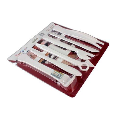 Набор инструментов для снятия обшивки полиуретан, 6 предметов