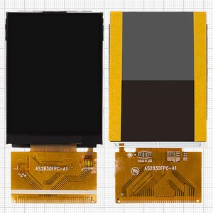 LCD for China-Nokia E71 TV, E72 TV; China-Maxtron MG285 Cell Phones, (37 pin, (69*50)) #AS2830FPC-A1