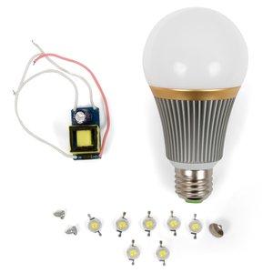 LED Light Bulb DIY Kit SQ-Q23 E27 7 W – cold white