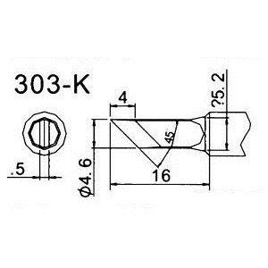 Soldering Tip Quick 303-K