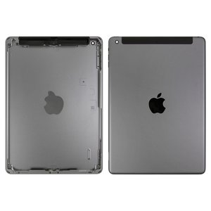 Back Cover for Apple iPad Air (iPad 5) Tablet, (black, version 3G )