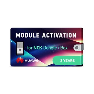 NCK Dongle / NCK Box 2 Years Huawei Module Activation
