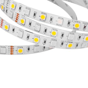 RGB+WW LED Strip SMD5050 (300 LEDs, 12 V, 5 m, IP20)