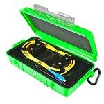 Bobina de compensación con cable para reflectómetro (OTDR) ORIENTEK FL-OTDR-BOX-SM05