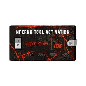 Soporte por 1 año para Inferno (renovación)