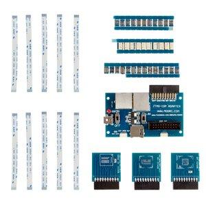 Juego de adaptadores MOORC Molex JTAG  35-en-1 y Adaptador JTAG-ISP 5-en-1