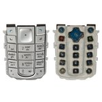 Клавиатура Nokia 6230, серебристая, русская