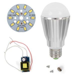 Комплект для сборки светодиодной лампы SQ-Q17 5730 7 Вт (холодный белый, E27)