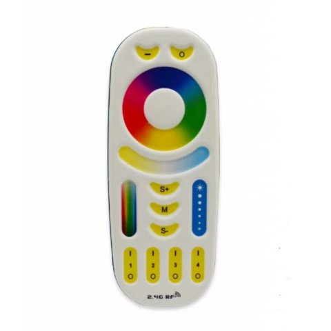 Пульт дистанційного управління MiLight RGB+CCT 2,4 Гц, 4 зони