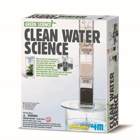 STEAM-конструктор 4M Система фильтрации воды 00-03281